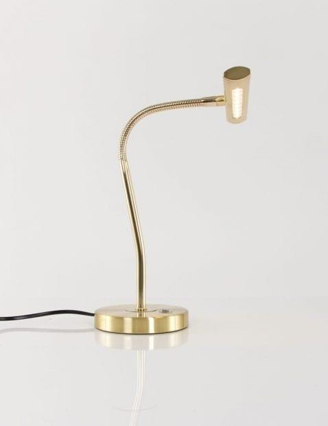gouden-notarislamp-leeslamp-verstelbaar