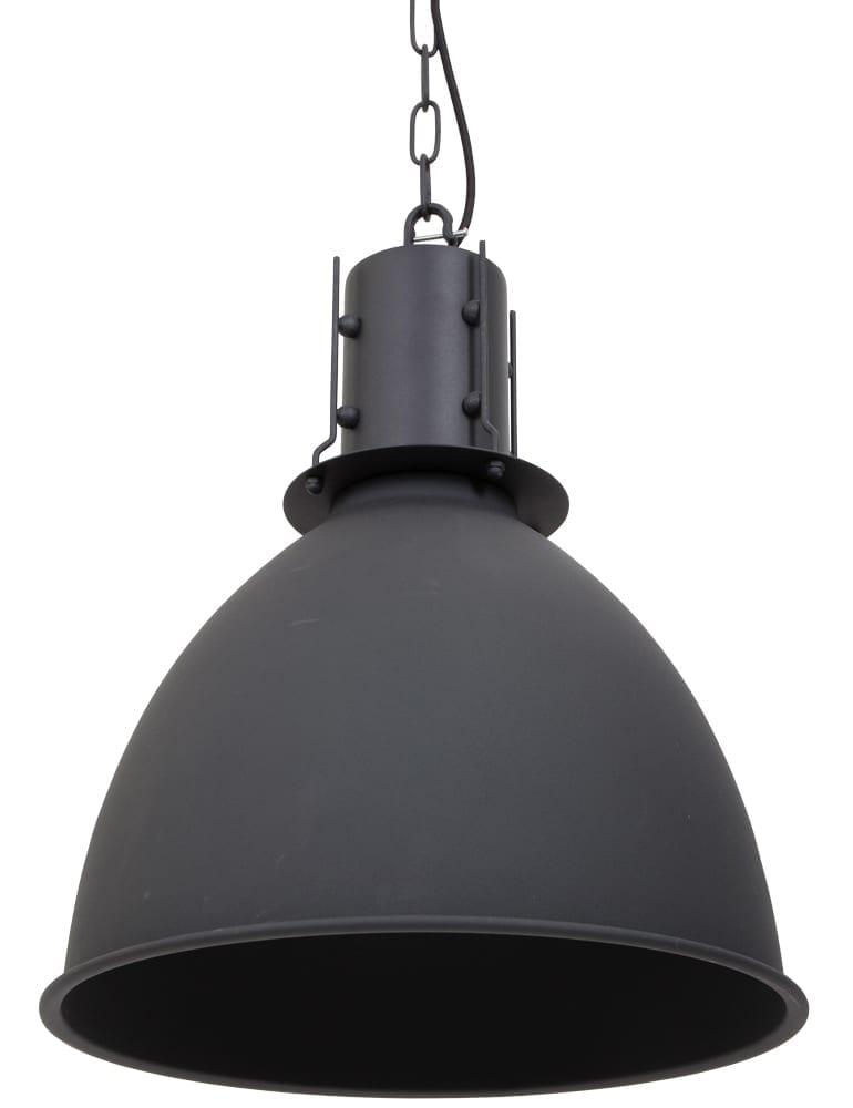 Grote eetkamerlamp zwart Scandinavisch