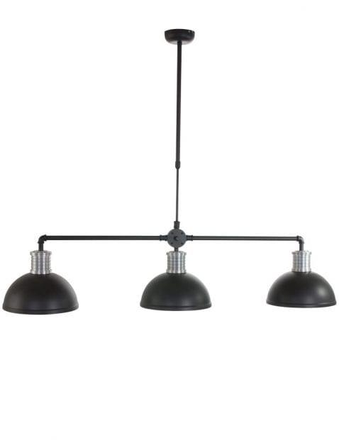 grote-eettafellamp-drielichts-industrieel-zwart