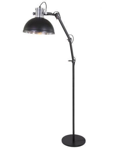 grote-verstelbare-vloerlamp-zwart