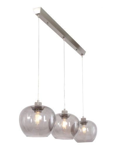 hanglamp-3lichts-modern-glas-staal