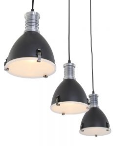 hanglamp-drielichts-zwart