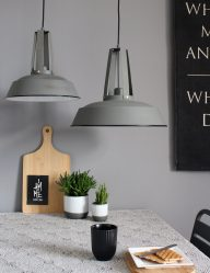 Hanglampen van trendy voordelig snel for Kleine industriele hanglamp