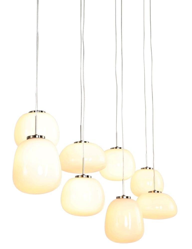 Afbeelding van 8-lichts hanglamp Steinhauer Bollique staal