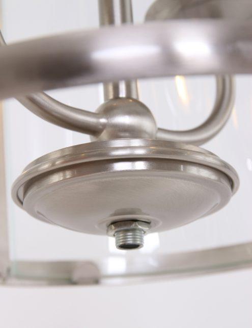 hanglamp_rond_staalkleurig_glas_lantaarn