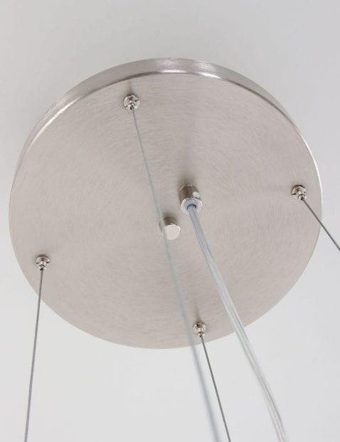 hanglamp_staal_glazen_schaal