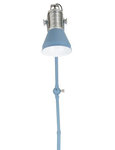hemelsblauwe-design-vloerlamp-geknikt