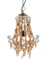 houten-kralen-kroonluchter