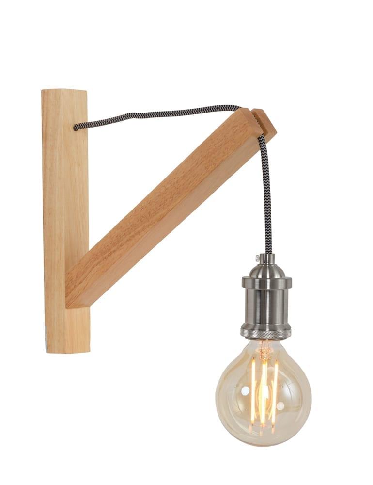 Top Galg wandlamp hout Lumidem Obian #OD03