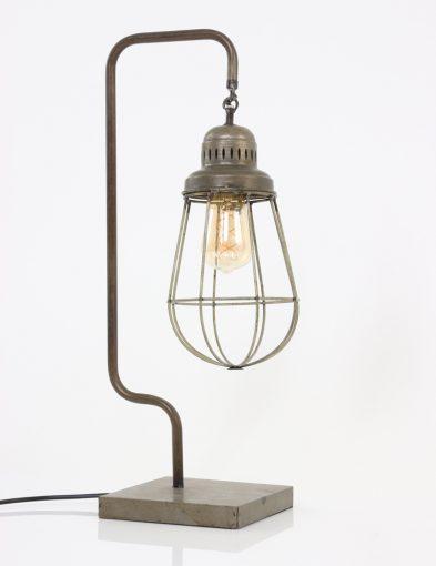 industriele-draad-tafellamp-lampion