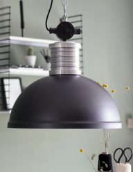 industriele zwarte hanglamp steinhauer minsk
