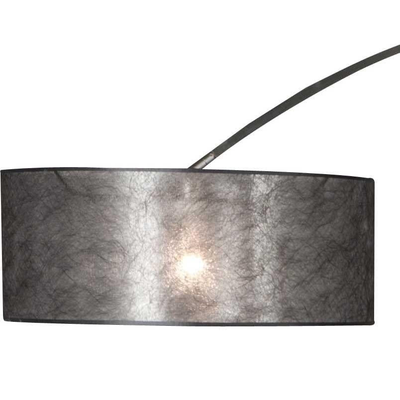 Vaak Grote zwarte lampenkap van stof ø 50cm #KM92