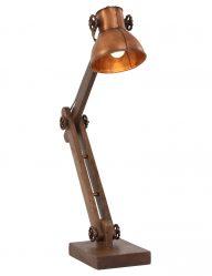 koperen-tafellamp-industrieel