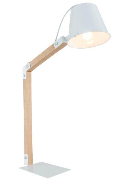 la-forma-andra-tafellamp-wit-met-hout