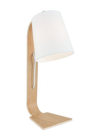 landelijke-lamp-klein-witte-kap-met-hout