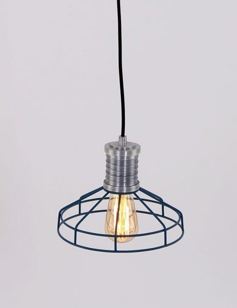 moderne-blauwe-lamp