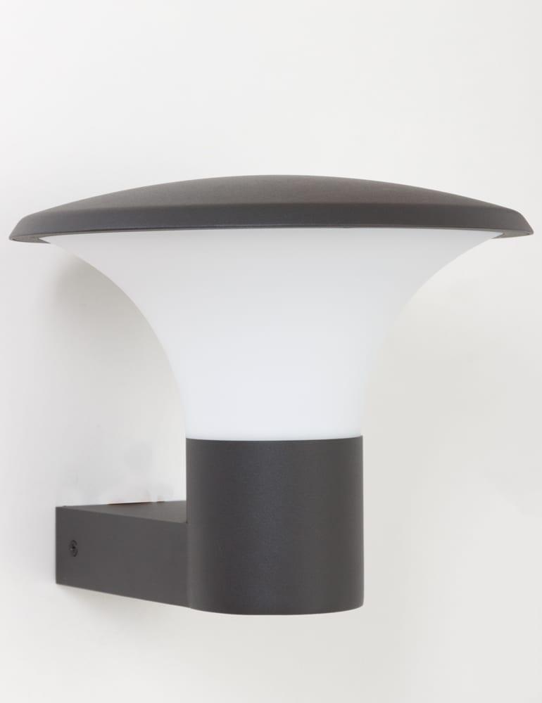 led buitenlamp trio leuchten kongo antraciet. Black Bedroom Furniture Sets. Home Design Ideas