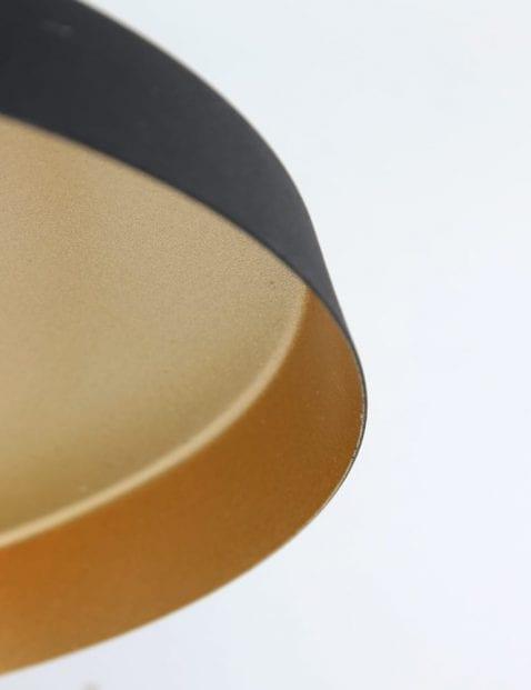 moderne-design-wandlamp-zwart-met-goud_1