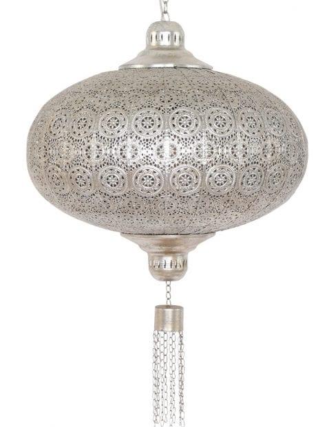 moderne-oosterse-hanglamp-staal-zilver