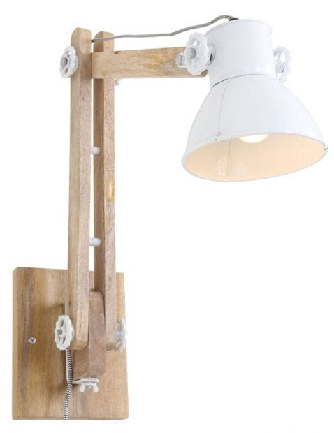 muurlamp-industrieel-wit