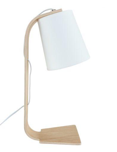 nachtlamp-hout-met-witte-kap