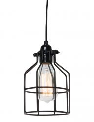no.5 zwart hanglampje