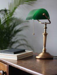 notarislampje groen klassiek