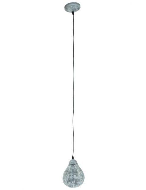 oosterse-hanglamp-gaatjes-grijs