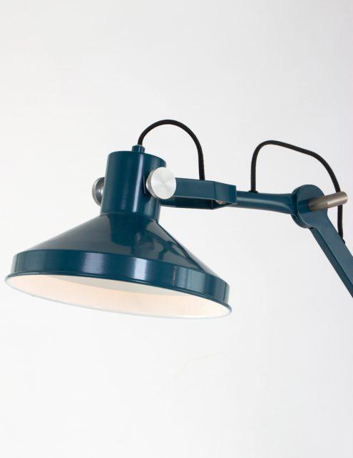 petrolblauwe-tafellamp-met-knik-industrielamp