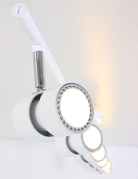 plafond-spots-zes-lichts-modern-wit