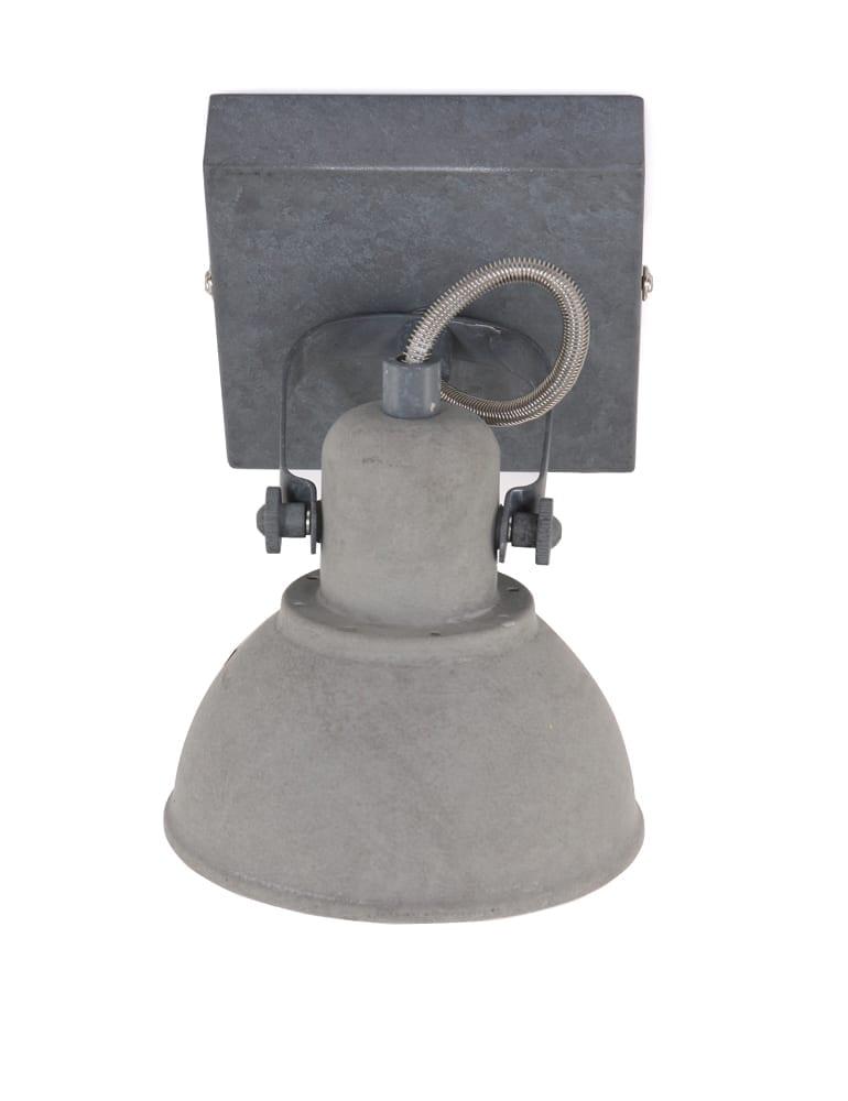 Industrielle spotlampe freelight santo grau for Freelight lampen
