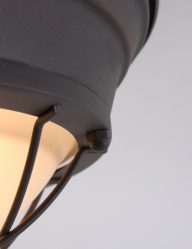 plafondlamp-raster-bruin