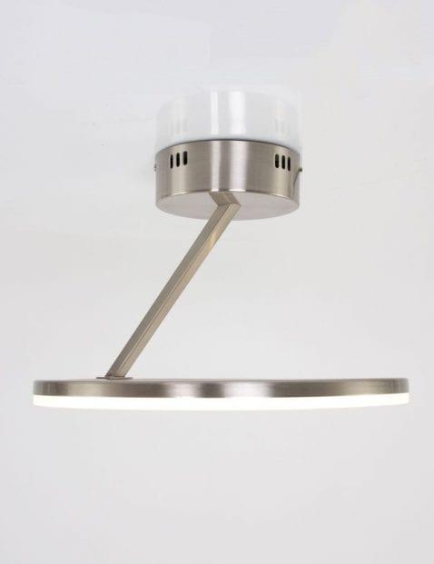 plafondlamp-staalkleurig-modern-rond
