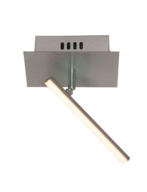 Kantelbare LED plafondlamp Steinhauer Tekken Mono staal