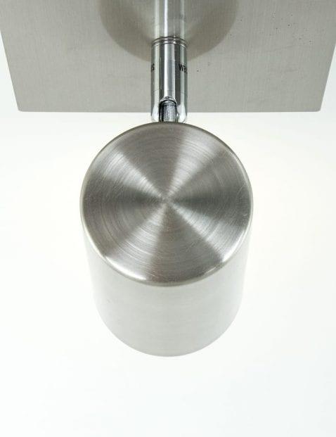plafondspot-staal-buis
