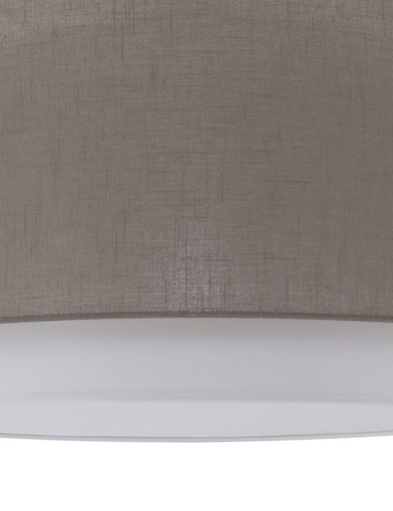 Chique plafondlamp freelight verona taupe for Freelight lampen