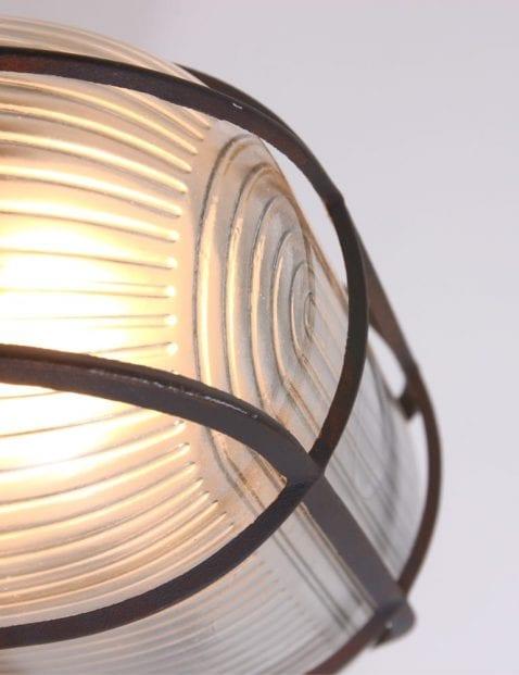 robuuste-wandlamp-bruin-raster