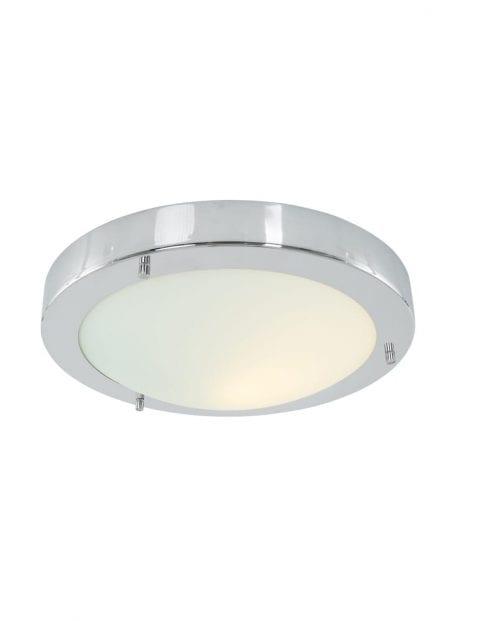 ronde-chromen-plafondlamp