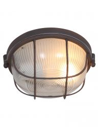 ronde-stoere-plafondlamp-verweerd-bruin