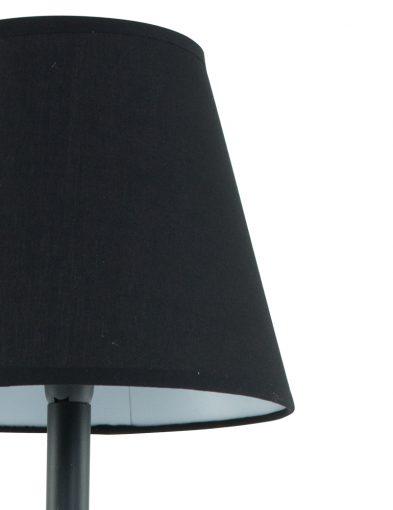 ronde-stoffen-schemerkap-zwart
