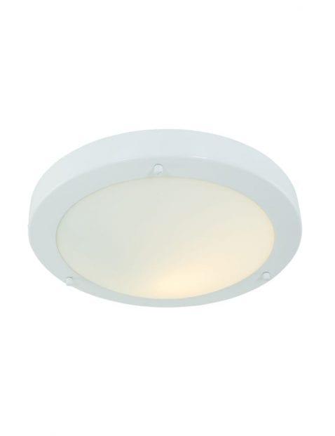 ronde-witte-plafondlamp