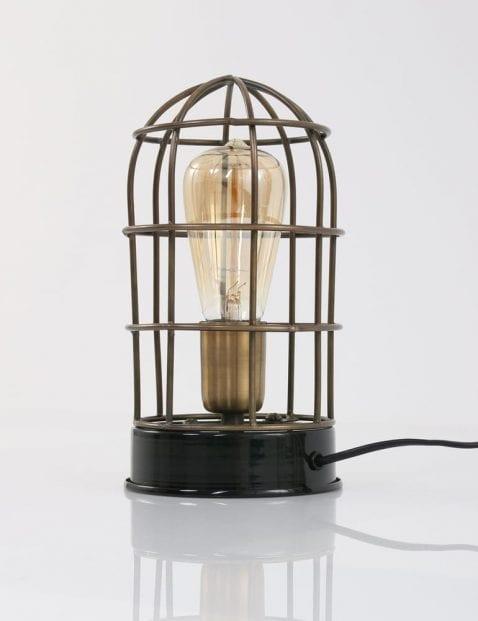 rooster-stolplamp-messing-met-zwart-industrieel