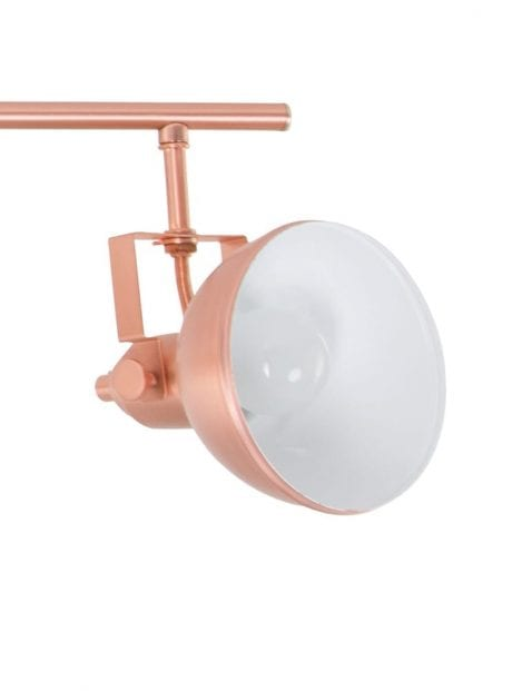 spotlamp-plafond-koper-modern