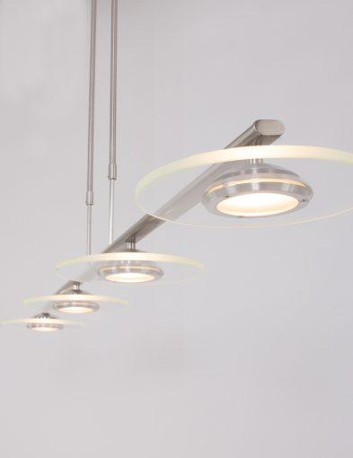 staalkleurige_vier_lichts_plafondlamp
