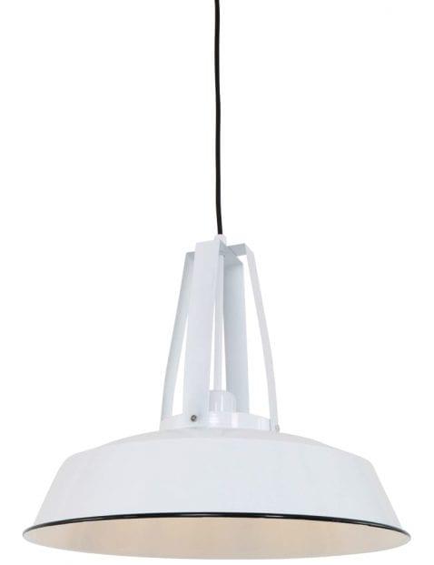 stoere-witte-glanzende-hanglamp-zwarte-omlijning