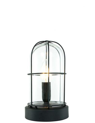 stolp-tafellamp-zwart-glas