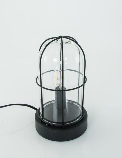 stolplampje-zwart