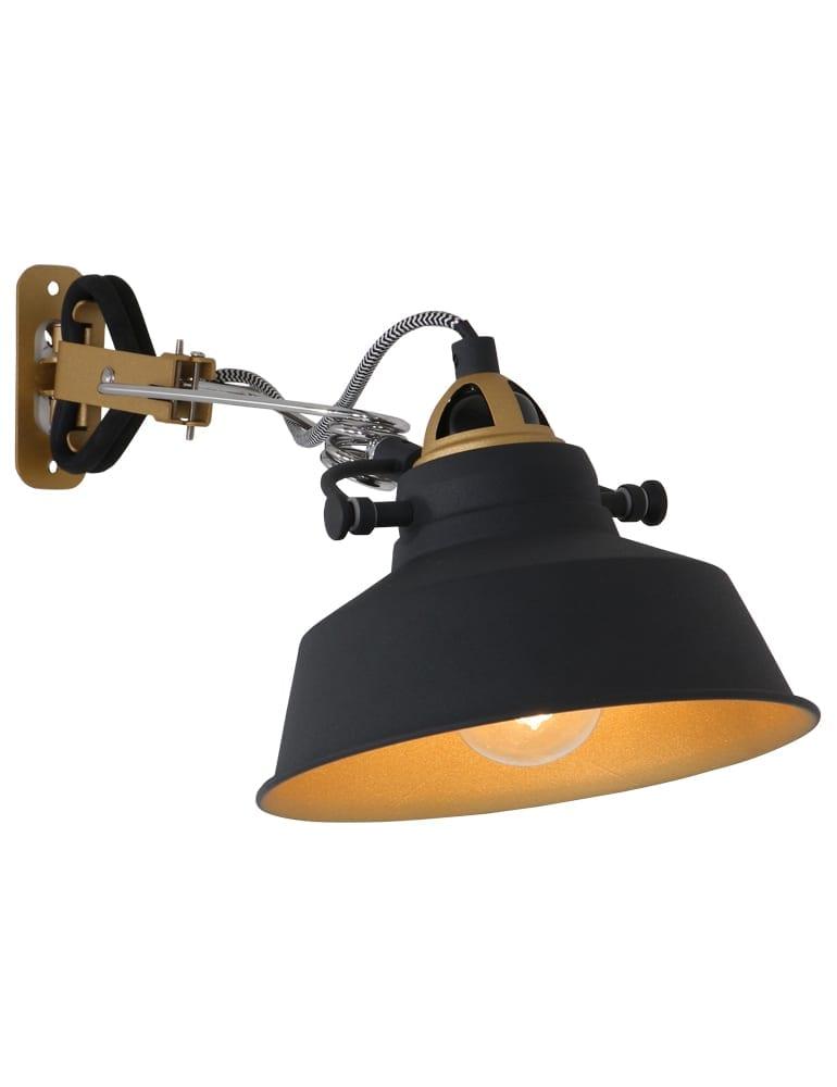 super-toffe-wandlamp-strijkijzersnoer-goud-zwart
