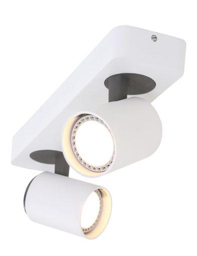 tweelichts-plafondspots-kantelbaar-led-wit