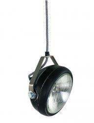 zwart hanglampje no.5